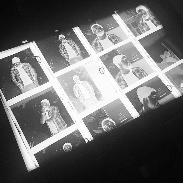 Some negatives from today ready for the silver print #darkroommagic #negatives #redlighttherapy #poolsidemusic #portraits #analog #dingdong #hashtag