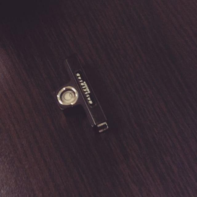 The original Hasselblad camera bubble spirit level just arrived. Item 43117 from the system compendium  #interiorporn #interiorphotography #spiritlevel #onehundredpercent #huntingstraightlines #hasselblad501cm #hasselbladtravel #analoglove #analogfilm #fi