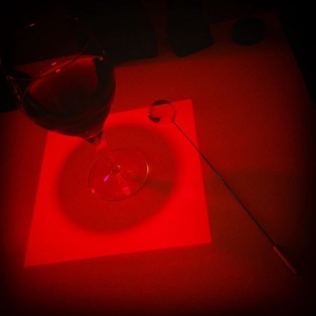 Dodge this! #onawednesday #redwine #redroom #redrum #darkroompoetry #darkroommagic #analoglove #filmisalive #filmisnotdead #ishootfilm #silverprint #dodgethis